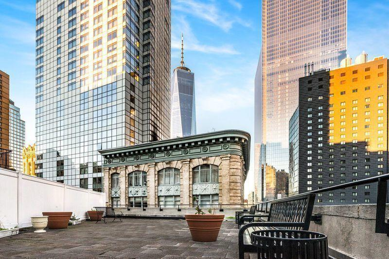 Rooftop Deck at 110 Greenwich Street