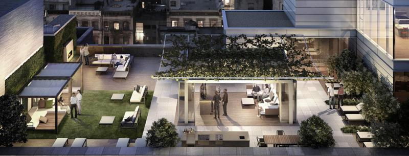 Rooftop Deck- 93 Worth Street- condo for rent in TRibeca