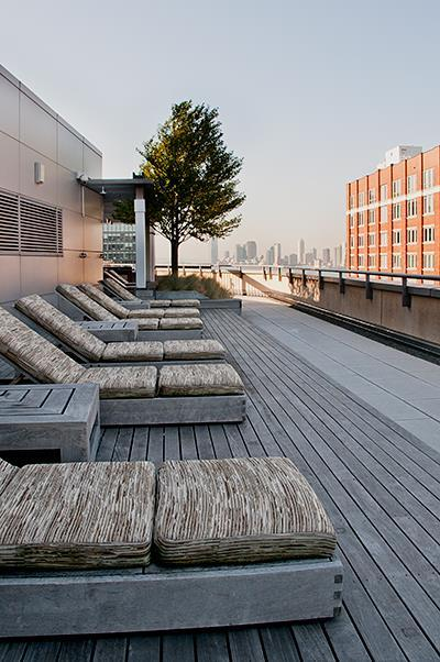 Rooftop Deck - 450 West 17th Street - Chelsea - NYC Rentals