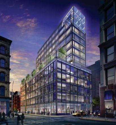 The Building - 40 Mercer Street - Soho