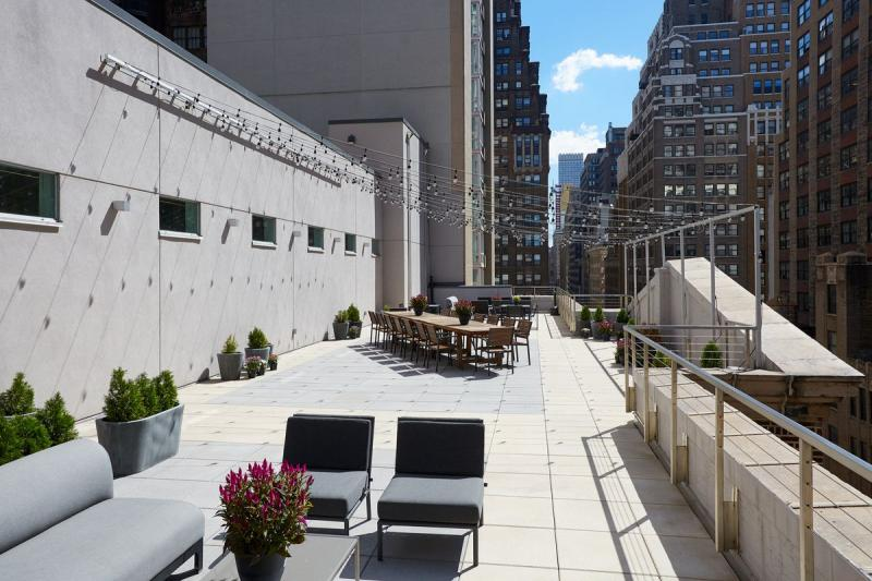Rooftop at Sienna37 in NYC - Apartments for rent