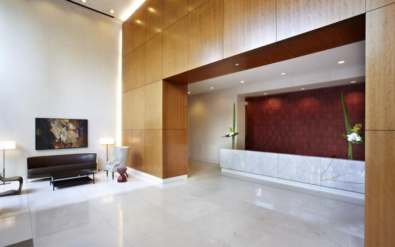 The Anthem Lobby –Midtown East Apartment Rentals