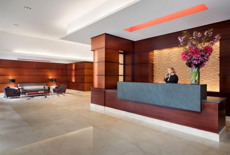 500 West 56th Street Lobby - Clinton Rental Apartments