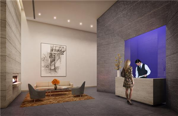 Lobby of The Dylan- NYC Apartments For Rent in Murray Hill