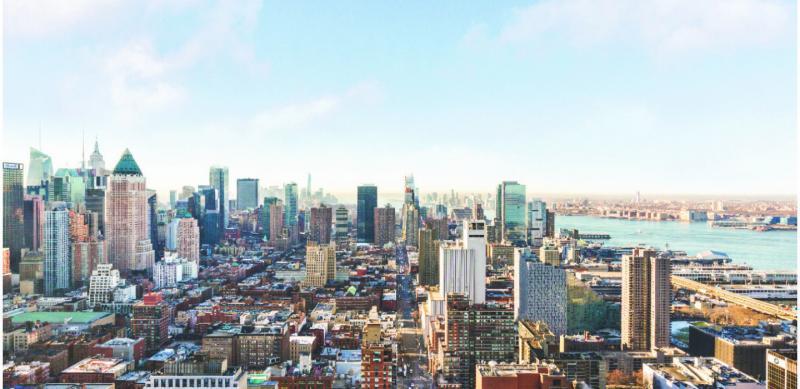 Stunning views from 175 West 60th Street in Manhattan