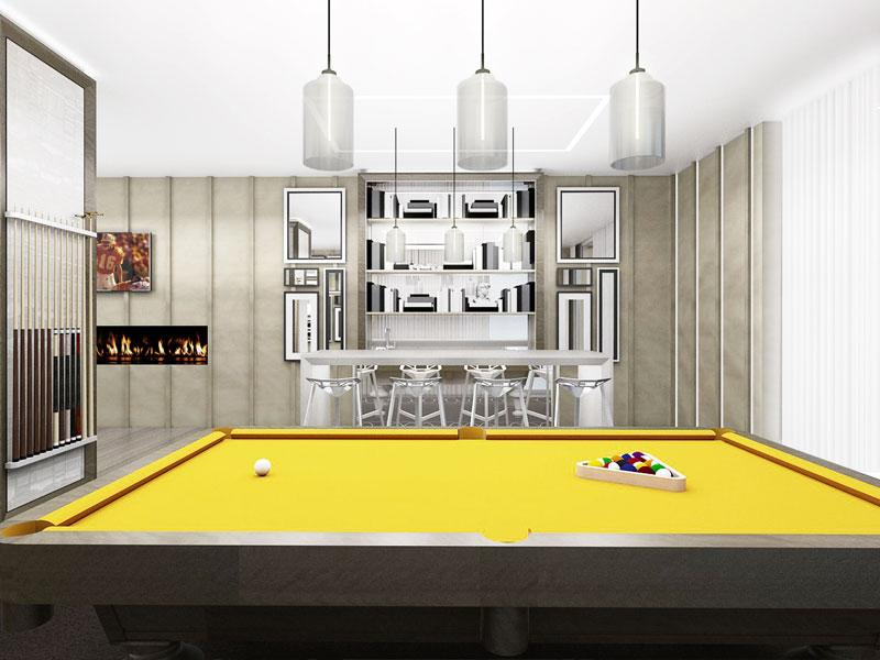 The Grayson, Billiards, Luxury Apartments For Rent, New York City