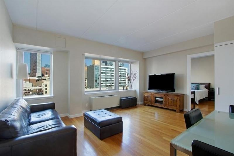 The Smith: Living Room Condominium Downtown Brooklyn