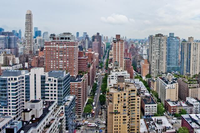 Stunning views from The Somerset in Manhattan