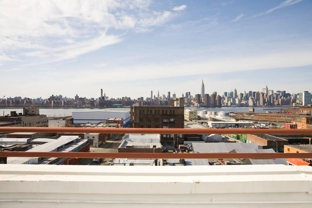 Open Views from Rooftop Deck at 44 Berry Street in Brooklyn