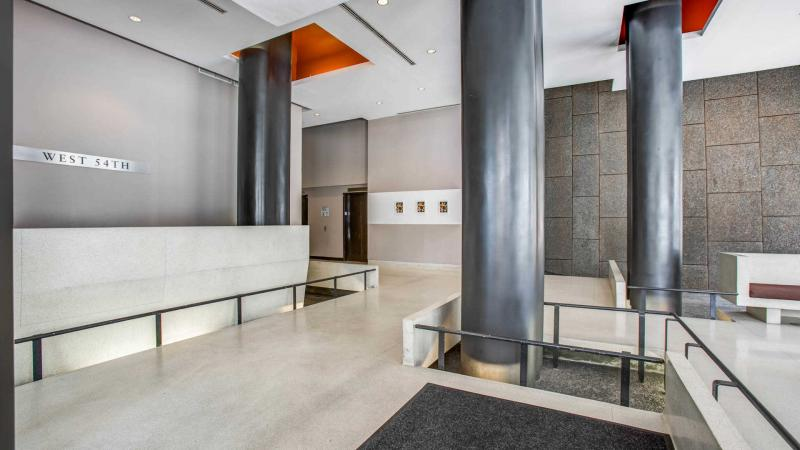 505 West 54th Street Lobby - Clinton Rental Apartments