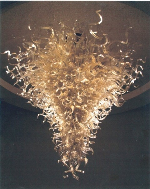 30 West 63rd Street  Dale Chihuly Chandelier - Upper West Side Rental Apartments