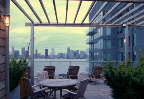 34 Desbrosses Street Roof Garden - Tribeca Rental Apartments