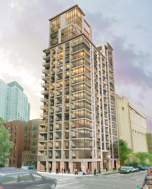 501 East 74th Street Rentals The Rose Modern