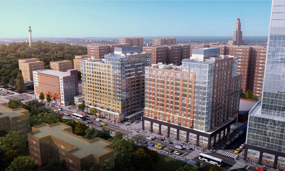 Rendering of 86 Fleet Place, developed by John Catsimatidis