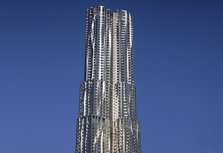 New york by gehry luxury rentals manhattan for Richest apartments in nyc