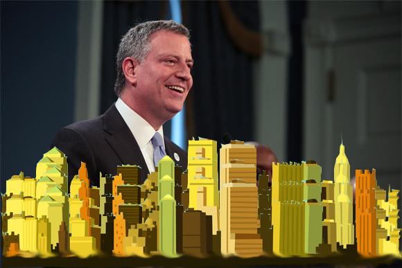 Bill de Blasio Renters Guideline Board