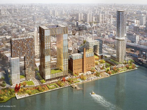Domino Sugar Factory Rendering - SHOP