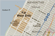 Far West Side Manhattan