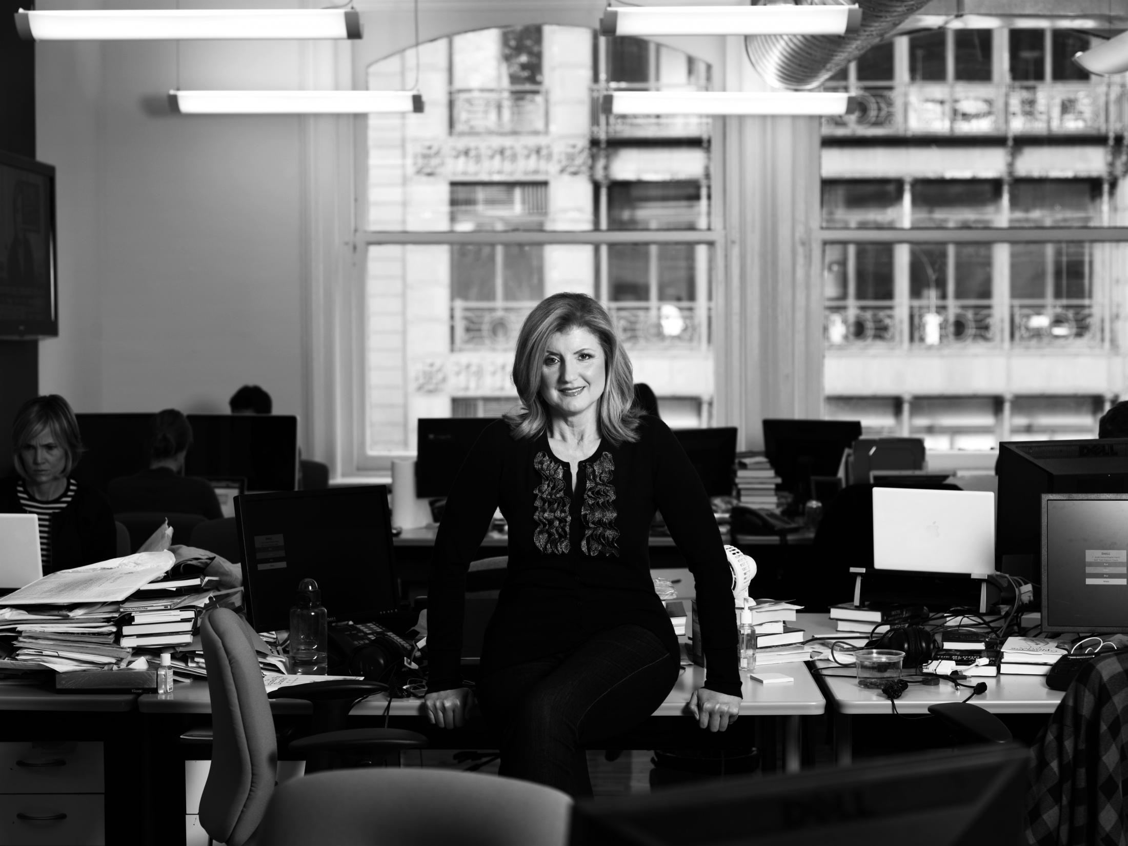 Arianna Huffington Sued for Trashing Chelsea Loft Apartment