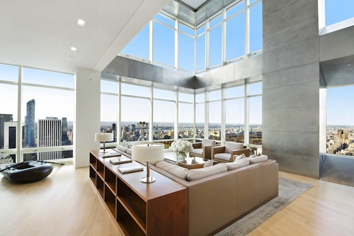 10 apartment buildings with the best views of manhattan for Luxury penthouses in manhattan