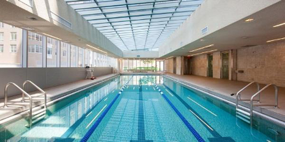 3-Lane Lap Pool at Element Condominium with Luxury Rentals