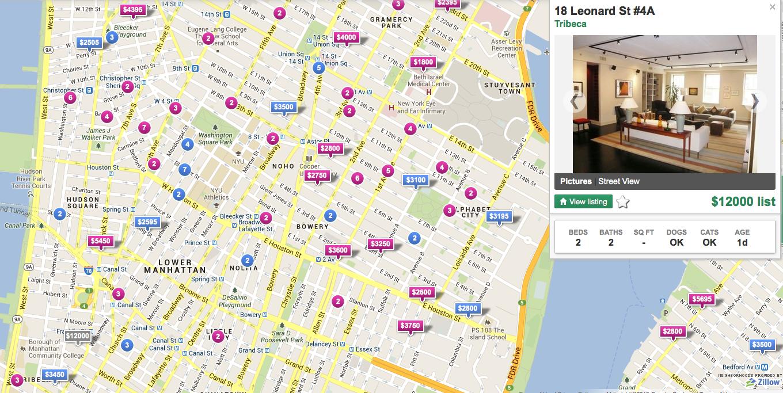 Soho Rental Apartments Luxury Rentals Manhattan - Nyc map soho