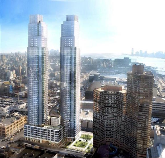 Apartments Near Nyu: Seeing Double: Five Luxury Buildings Featuring Two Towers