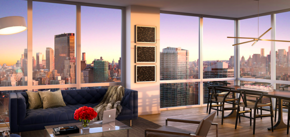 The Living Room at Sky 605 West 42nd Street