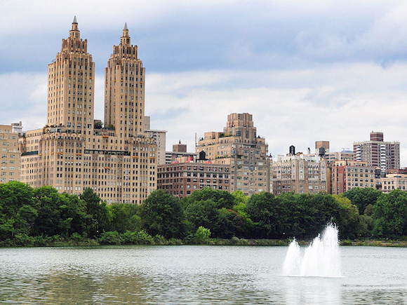 The Eldorado twin towers located at 300 Central Park West on the Upper West Side