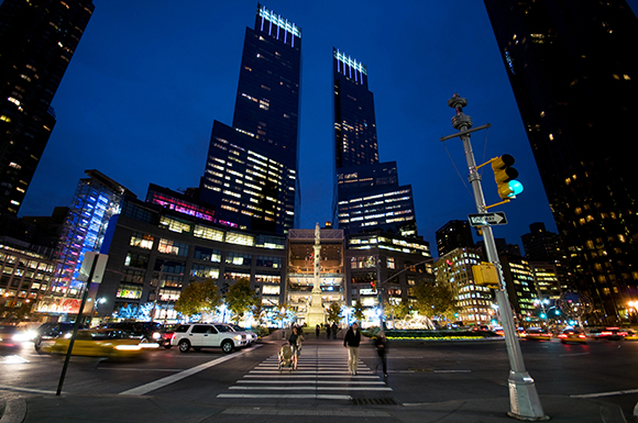 Time Warner Center Luxury Rental Apartments Located on Columbus Circle in Midtown West