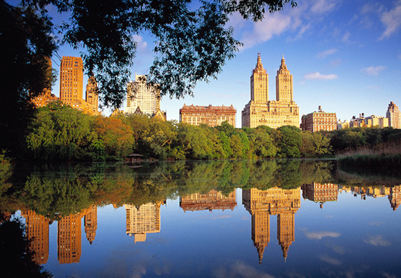 The San Remo twin towers located at 145 Central Park West, New York