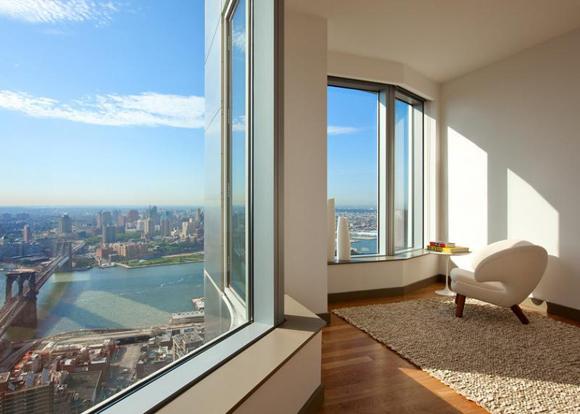 8 Spruce Street Luxury Apartments Showcase Great Views Of The City And  Water.